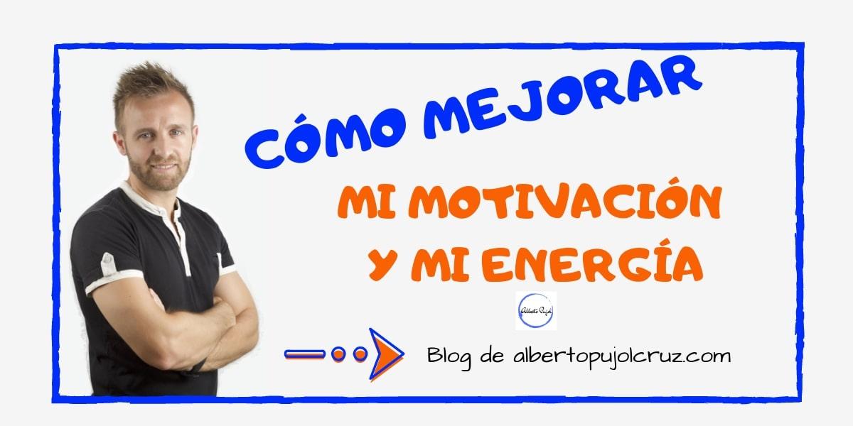 MOTIVACION Y ENERGIA